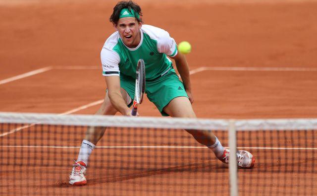 Avstrijec Dominic Thiem je tretjeuvrščeni igralec svetovne teniške lestvice. FOTO: Reuters