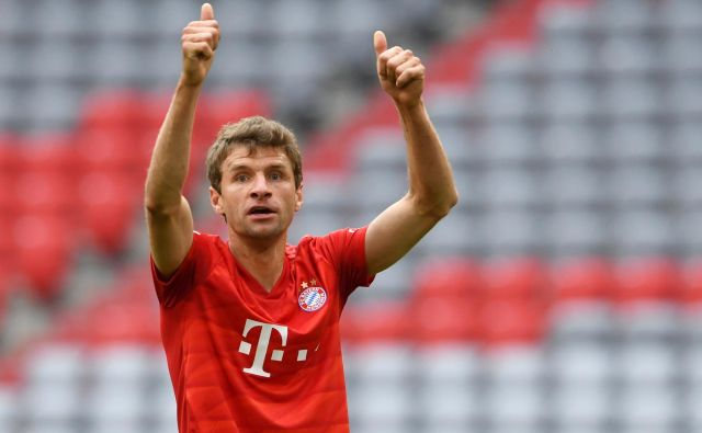 Thomas Müller, star 30 let, je od sezone 2009/10 pri Bayernu nepogrešljiv. FOTO: Reuters