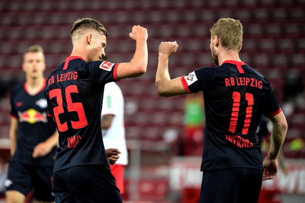 FOTO:Leipzig tudi brez Kevina Kampla spet v območju lige prvakov