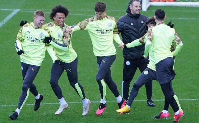 Nogometaši Manchester Cityja se bodo vrnili v tekmovalni pogon med prvimi na Otoku. FOTO: AFP