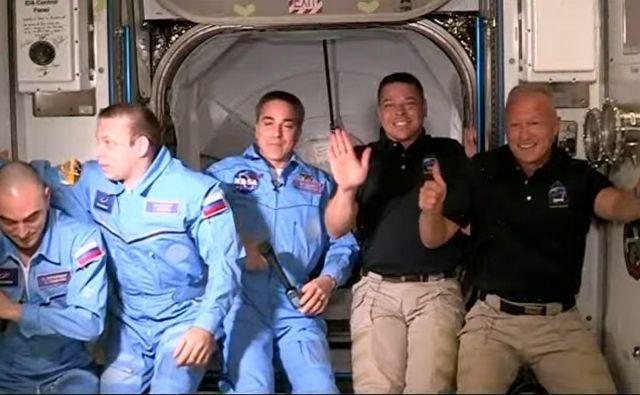 Astronavti Foto Spacex