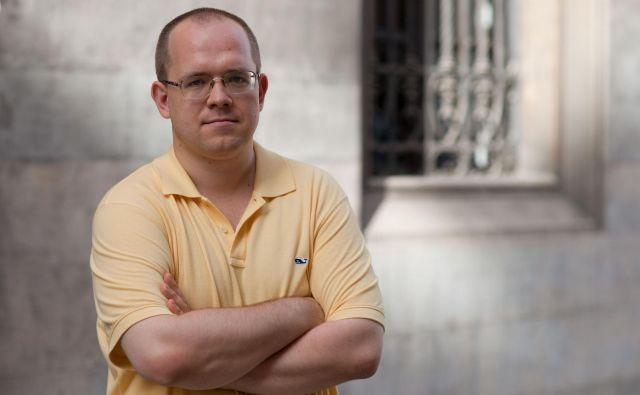 Spletni aktivist Jevgenij Morozov. FOTO: Lenart J. Kučić