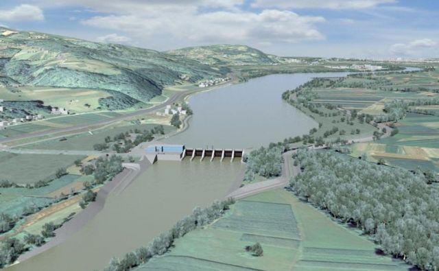 HE Mokrice: kdaj bo na spodnji Savi zrastel še zadnji iz niza šestih hidroenergetskih objektov? Foto Press Release