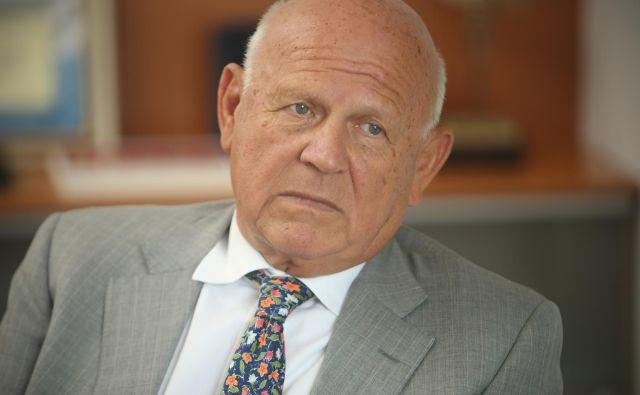 Janez Kocijančič je bil pravnik, politik, nekdanji predsednik OKS in poslovnež. FOTO: Jure Eržen