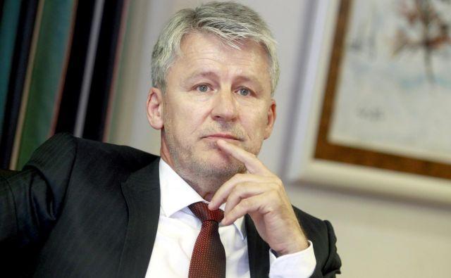 Veriga v perutninarstvu je izjemno stabilna, pravi generalni direktor Perutnine Ptuj Enver Šišić. FOTO Roman Šipić/Delo