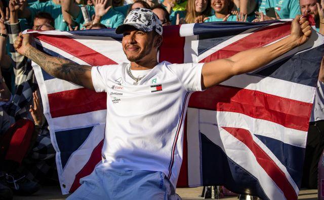 Lewis Hamilton je borec proti rasizmu, proti kateremu ni imuna niti formula 1. FOTO: USA Today Sports