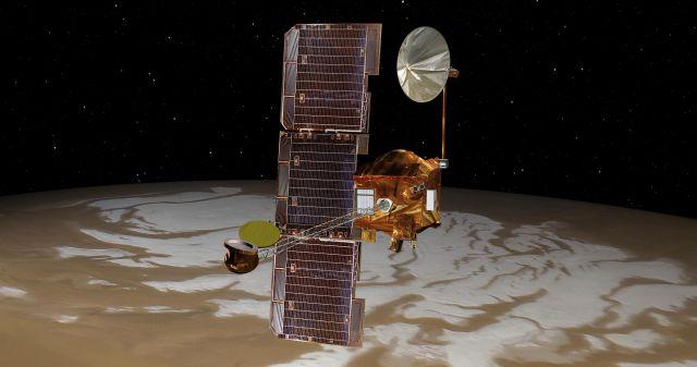 FOTO:Najdlje delujoči satelit drugega planeta