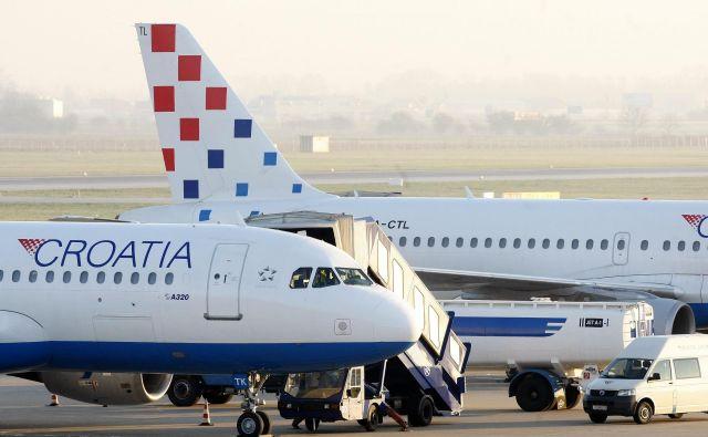 Ekonomija obsega je ključna v letalski industriji. Zadostne ekonomije obsega ni imela ne Adria Airways in je nima niti Croatia Airlines, ki živi le zaradi državne podpore. Foto: Cropix