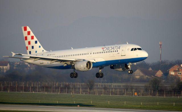 Po naših neuradnih informacijah bi hrvaški letalski prevoznik lahko letel na nekatere destinacije, ki po stečaju Adrie Airways niso več na voznem redu na ljubljanskem letališču. Omenjata se, denimo, Sarajevo in Skopje. FOTO: Cropix