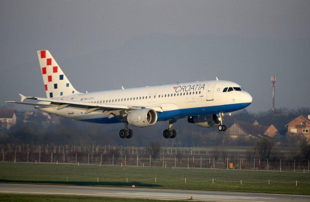 FOTO:Croatia Airlines želi bazo tudi na Brniku