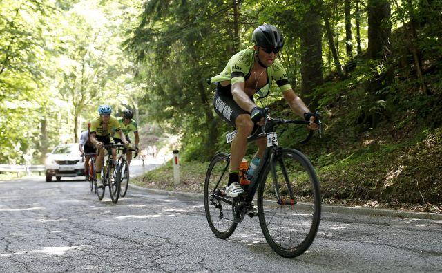 Čeprav je usoda letošnjega maratona Franja še negotova, bodo številni slovenski kolesarji romali na Kladje. FOTO: Blaž� Samec/Delo
