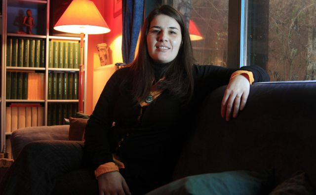 Jana Bauer je bila doslej trikrat nominirana za večernico in dvakrat za nagrado desetnica. Foto Leon Vidic