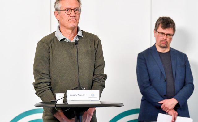 <strong>Anders Tegnell</strong> je priznal, da so na Švedskem naredili napako, ker si niso bolj prizadevali za zajezitev okužb z novim koronavirusom. FOTO: Reuters