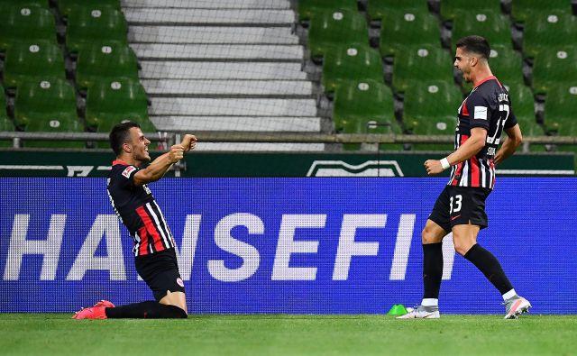 Veselje portugalskega napadalca Andreja Silve po doseženem golu. FOTO: Reutersa