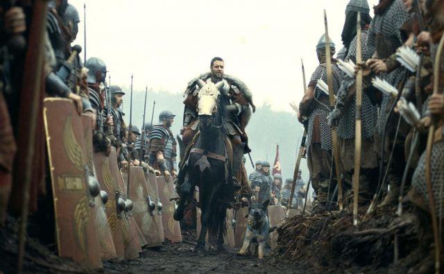 Gladiator velja za vrhunec kariere avstralskega igralca Russla Crowa. FOTO: Promocijsko gradivo