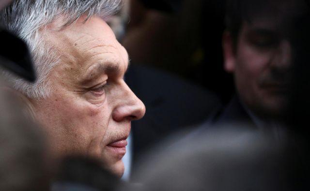 Orbánrad ponavlja, da je bilo Madžarski ukradeno ozemlje. Običajno to počne ob junijski obletnici in po potrebi še kdaj vmes.<br /> Foto Reuters