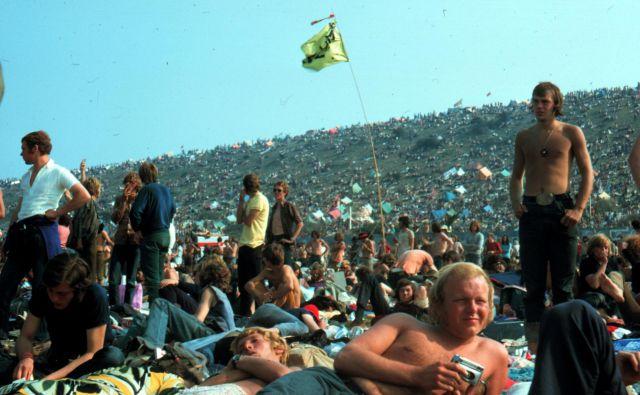 Grič nad festivalskim prizoriščem na otoku Isle of Wight FOTO: Roland Godefroy/Wikipedia
