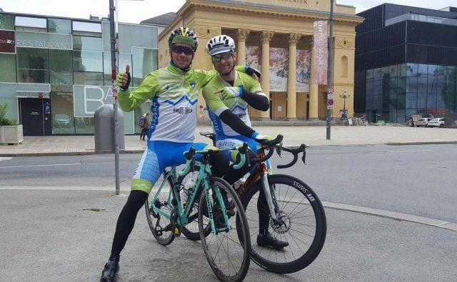 Slovenska kolesarska reprezentanca je v najmočnejši zasedbi izpeljala skupni trening. FOTO: KZS