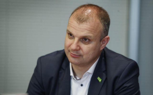 Državni sekretar Aleš Cantarutti zapušča gospodarsko ministrstvo. FOTO: Leon Vidic/Delo