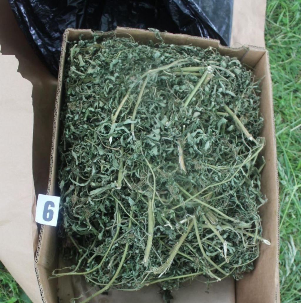 FOTO:Zasegli skoraj štiri kilograme opojne zeli in smole