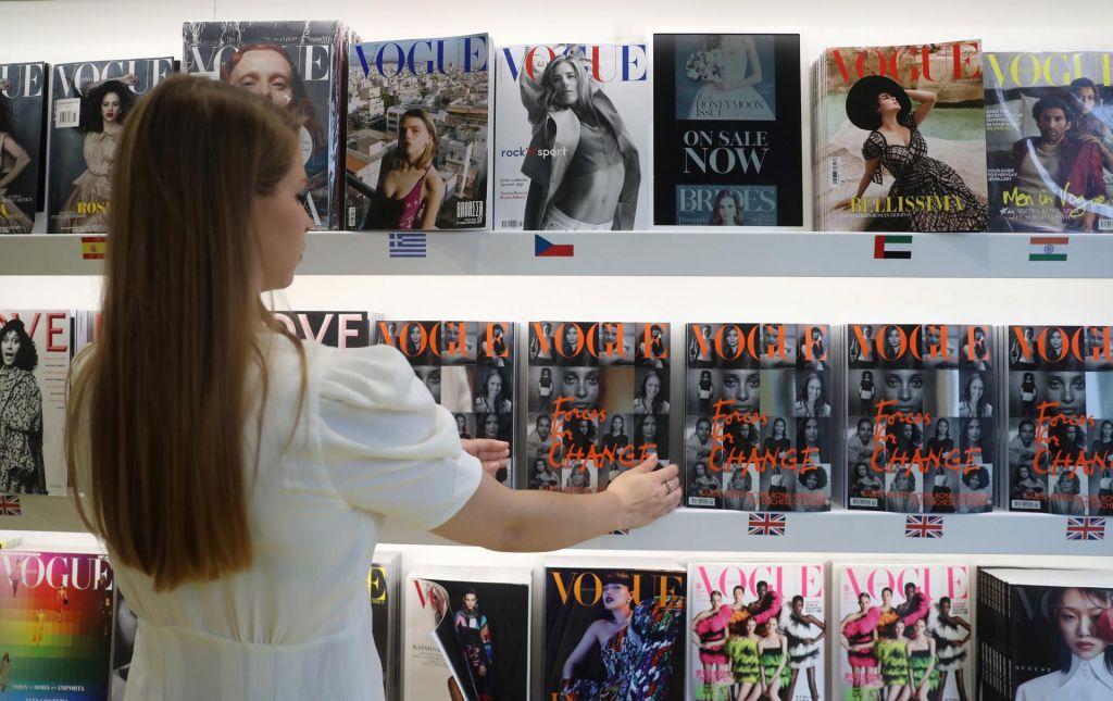 FOTO:Britanski Vogue počastil junakinje s frontne črte