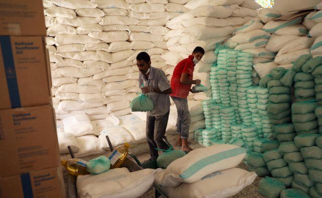 Zaloge hrane v Jemnu se praznijo. Foto Reuters