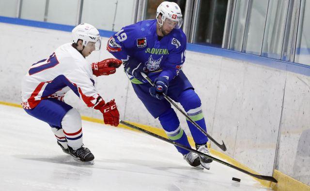 Žiga Pance je že dobro desetletje član slovenske hokejske reprezentance. FOTO: Leon Vidic/Delo