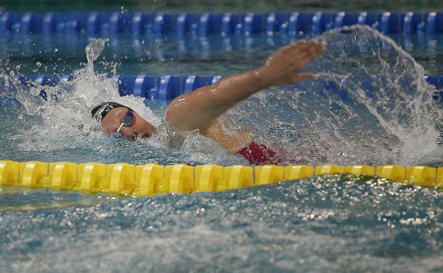 Za vodilno slovensko plavalko Tjašo Oder bo prav poseben nastop na domačih Ravnah. FOTO: Uroš Hočevar/Delo