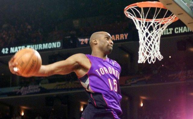 Vince Carter je v mladih letih lahkotno lebdel na košarkarskih igriščih. FOTO: Reuters