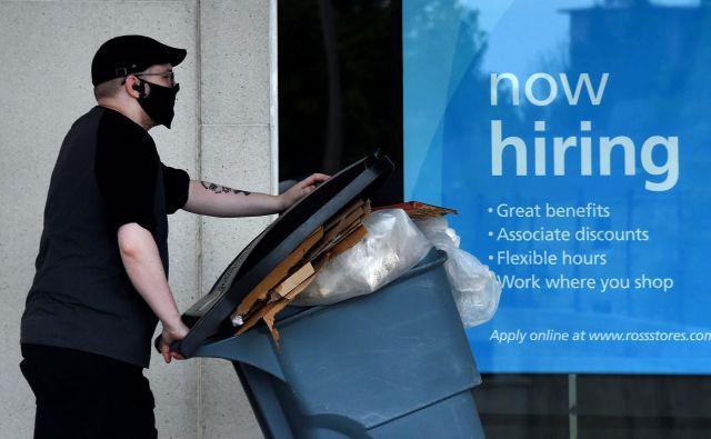 Zaposlovanje v virginijskem Arlingtonu.Foto Olivier Douliery Afp