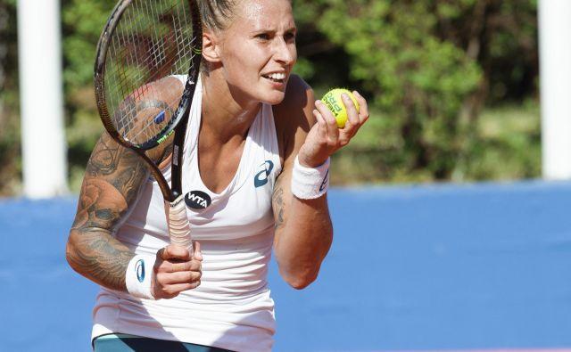 Polona Hercog je na 45. mestu najvišje uvrščena slovenska igralka lestvice WTA. FOTO: CROPIX