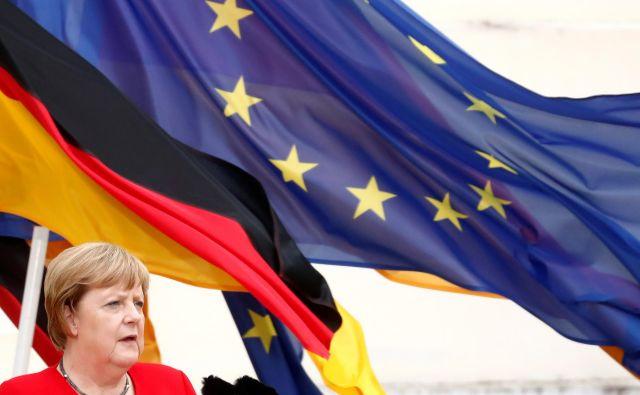 Nemčija je nazadnje predsedovala leta 2007. Tedaj je bil glavni projekt kanclerke Angele Merkel reševanje vsebine ustavne pogodbe, dve leti prej zavrnjene na referendumih v Franciji in na Nizozemskem. Nastala je lizbonska pogodba. FOTO: Reuters