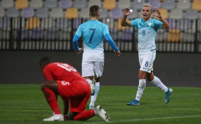 Dejan Petrović dobiva v majici Rapida veliko priložnosti. FOTO: Tadej Regent