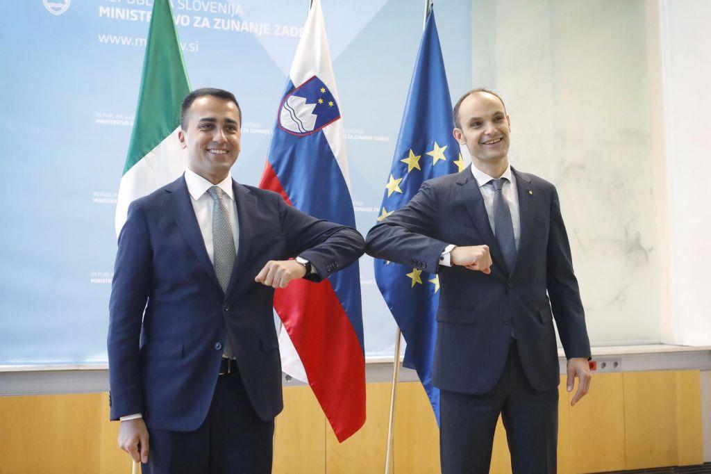 Logar in Di Maio optimistično zreta v 15. junij
