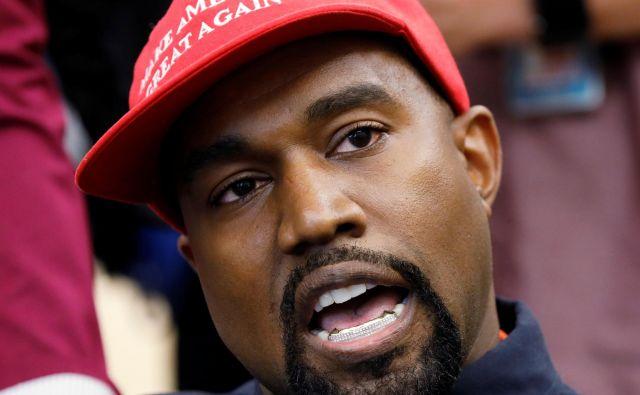 Kanye West je daroval da milijona ameriških dolarjev. FOTO: Reuters