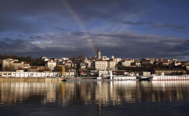 V Beogradu so težave povzročale močne nevihte. (Fotografija je simbolična) FOTO: Marko Djurica/Reuters