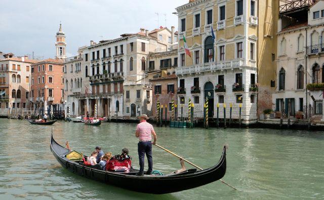 Benetke so že pred epidemijo naredile nekatere korake k zmanjševanju množičnega turizma. FOTO: Manuel Silvestri/ Reuters