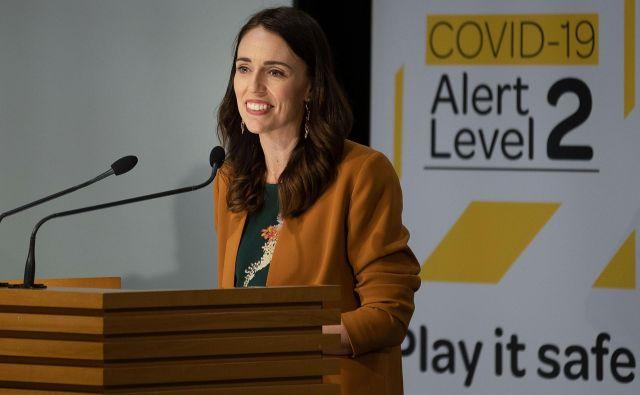 »Delo v celoti še ni opravljeno, a ne smemo zanikati, da je to mejnik, zato lahko zaključim s preprostimi besedami: 'Hvala, Nova Zelandija',« je dejala premierka. FOTO: Marty Melville/AFP