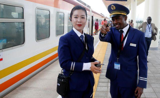 Kitajska je v minulih desetletjih sistematično povečevala prisotnost v Afriki. FOTO: Reuters