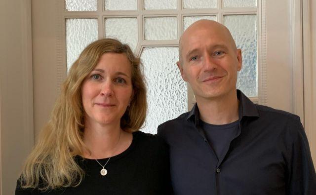 Zakonca Natalie Kauther in Adrian Pollmann začenjata pionirsko delo na področju usklajevanja dela in družinskega življenja. FOTO: osebni arhiv