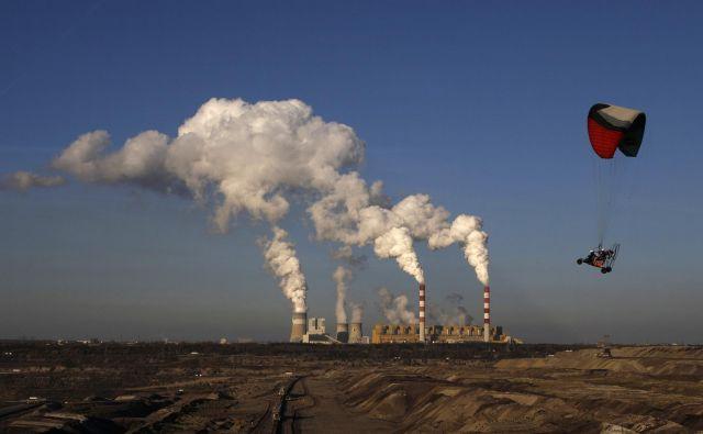 Premogovnik Bełchatów, v katerem proizvedejo dve tretjini poljskega lignita, so pred tremi leti razglasili za največjega onesnaževalca okolja v Evropski uniji. FOTO: Reuters