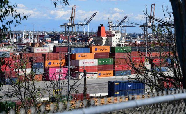 Nemška zbornica industrije in trgovine pričakuje, da bo izvoz letos za 15 odstotkov manjši kot lani. FOTO: AFP