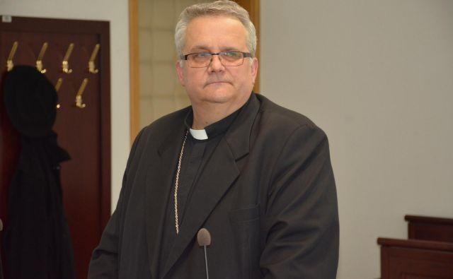 Murskosoboški škof Peter Štumpf se ne čuti krivega. FOTO: Oste Bakal/Slovenske novice