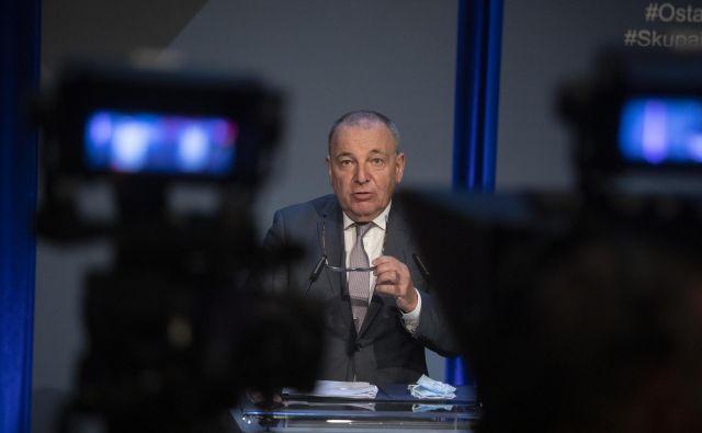 Predlogi evropske komisije so korak v pravo smer, meni minister za finance Andrej Šircelj. FOTO: Voranc Vogel