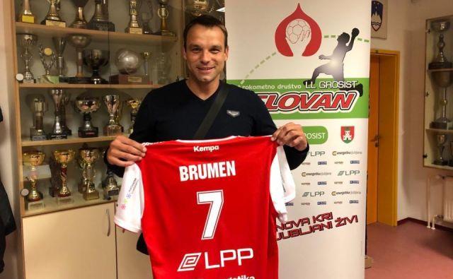 Matjaž Brumen bo pomembna okrepitev kluba s Kodeljevega. FOTO: LL Grosist Slovan