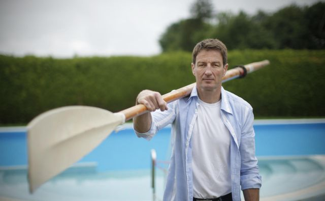 Iztok Čop je čustveno najbolj navezan na svoj matični blejski veslaški klub. FOTO: Jure Eržen/Delo