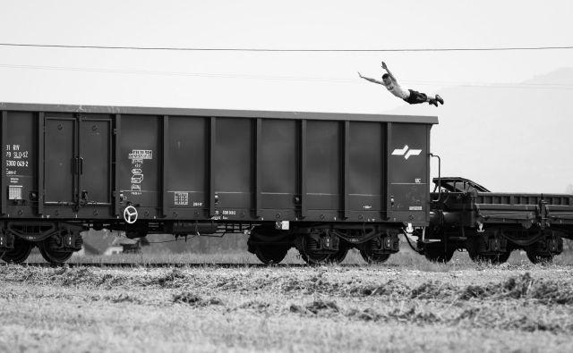 Vozi me vlak v višave... FOTO: Katja Pokorn