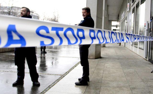 Policija obžaluje, da je prišlo do dogodka in to nesprejemljivo dejanje ostro obsoja. FOTO: Roman Šipić/Delo
