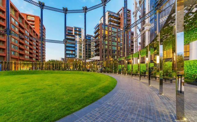 Gasholder park v Londonu. FOTO: Asiastock/Shutterstock