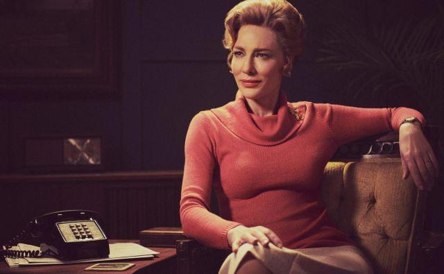 Vedno brezhibna in z ledenim nasmeškom. Phyllis Schlafly odlično upodobi Cate Blanchett. FOTO: promocijsko gradivo